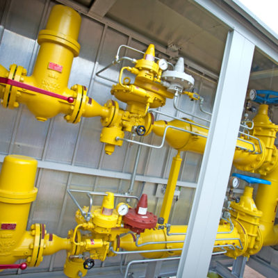 Cellular Gas Filter in Biogas Feed Systems